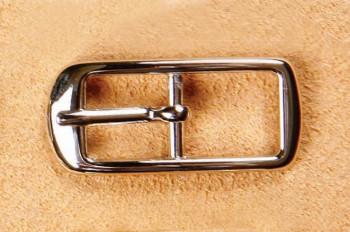 Center Bar Buckle 10 mm - Nickel -