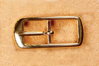 Center Bar Buckle 10 mm - Gold -