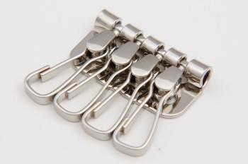 Four Keychains - Nickel -