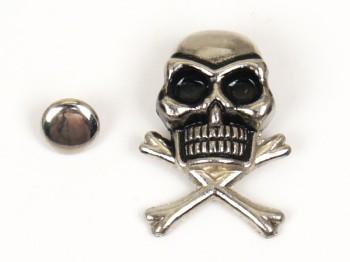 Decorative Rivet Skull & Crossbones