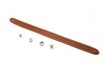 Mystery Braid Leather Bracelet Kit - 3 Strands(M) - Leather Arizona