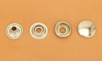Snap Fastener - Nickel Plated Brass - Large