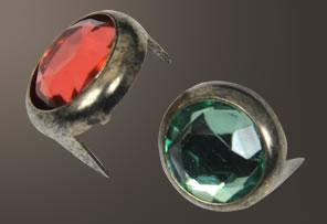 Acrylic Spot - Relic Nickel Ring (11 mm)  (5 pcs)