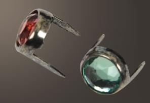 Acrylic Spot - Relic Nickel Ring (7 mm)(5 pcs)