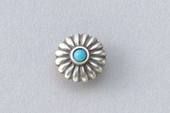 Metal Concho Round <13 mm>
