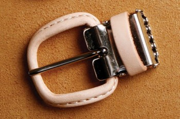 Leather Covered Buckle 24 mm