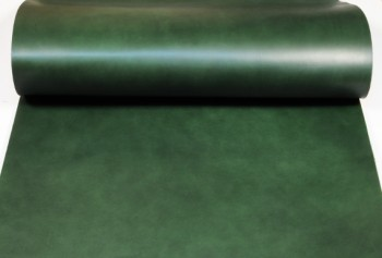 Leather cut in 60cm width, LC Premium Dyed Leather Struck Through <Green>(62 sq dm)