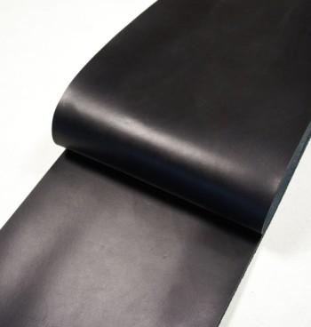 Leather cut in 30cm width, Tochigi Aniline Leather Classic<Black>