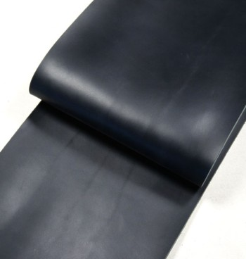 Leather cut in 30cm width, Tochigi Aniline Leather Classic<Navy> (27 sq dm)