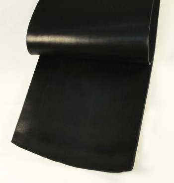 Leather cut in 30cm width, LC Leather Glazed Standard <Black>
