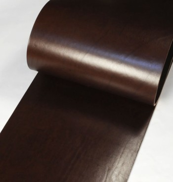 Leather cut in 30cm width, Hermann Oak UK Bridle Leather <Dark Brown>