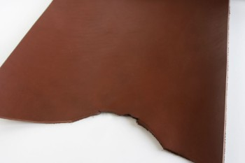 Leather cut in 30cm width, LC Premium Dyed Leather Struck Through <Chocolate>