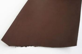 Leather cut in 30cm width, LC Premium Dyed Leather Struck Through <Dark Brown>