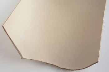 Leather cut in 30cm width, LC Premium Dyed Leather Struck Through <Beige>