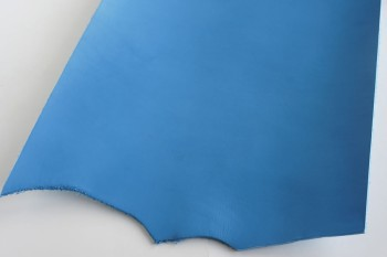Leather cut in 30cm width, LC Premium Dyed Leather Struck Through <Blue>