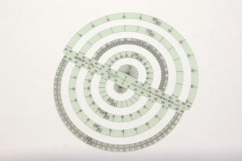 TY Circle Template Ruler