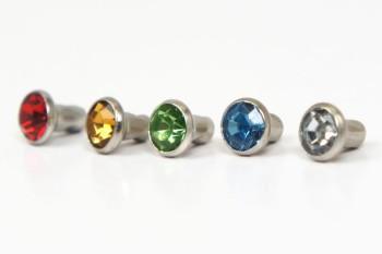 Crystal Rivets 5 mm (10 pcs)