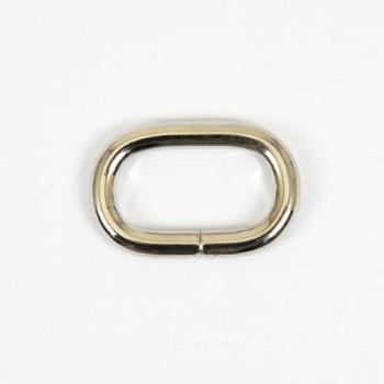 Oval Ring - Nickel(5 pcs)