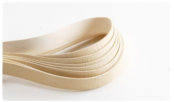 Sheep Leather Lace Natural 0.3 mm Thick