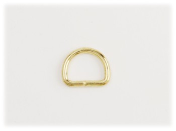 Dog Collar D-Ring 16 mm <Brass>