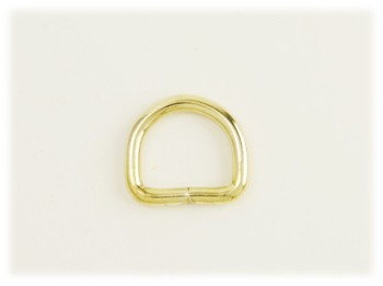 Dog Collar D-Ring 20 mm <Brass>