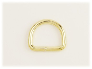 Dog Collar D-Ring 25 mm <Brass>