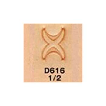 <Stamp>Border Stamp D616-1/2