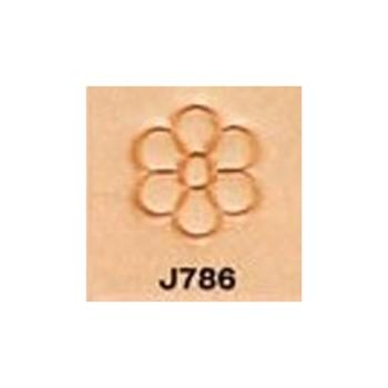 <Stamp>Flower Center J786