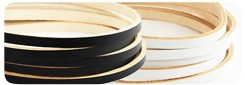 LC Pigmented Leather Lace 11 mm(5 straps)