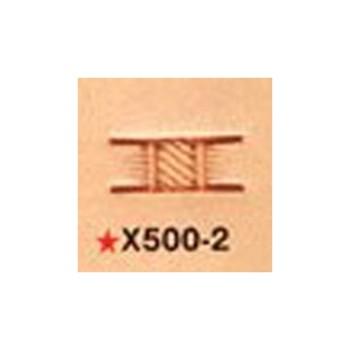 <Stamp>Basketweave X500-2