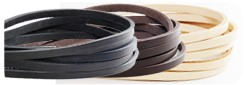 LC Leather Glazed Standard Lace 24 mm(3 straps)