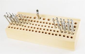 Wooden Tool Rack