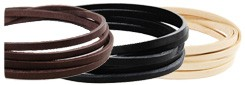 LC Tooling Leather Standard Lace11 mm(5 straps)