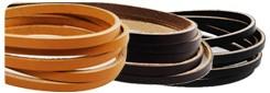 Hermann Oak UK Bridle Leather Lace 4 mm(10  straps)