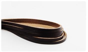 Hermann Oak UK Bridle Leather Lace 8 mm (5  straps)