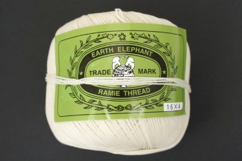 Waxed Ramie Thread (White) 225g (4 ply twisted)