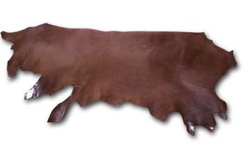 LC Leather Side Glazed Standard <Dark Brown>