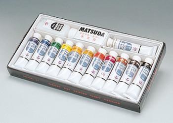 MATSUDA Acrylic Color 12 Color Set