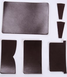 Card Case Kit - LC Leather Glazed Standard