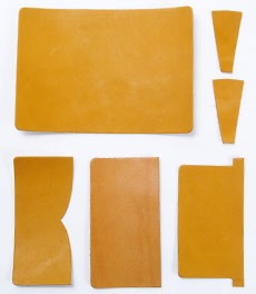 Card Case Kit - Oiled Leather(5 sets)