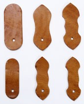 Univarsal Band Closure Part ( L ) - Hermann Oak Harness Leather (1 set)
