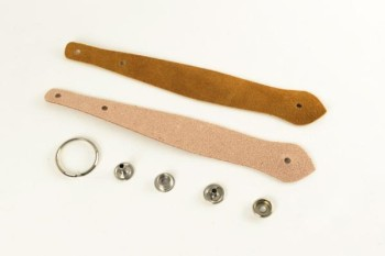 Excel Leather Key Fob Kit - Snake Head