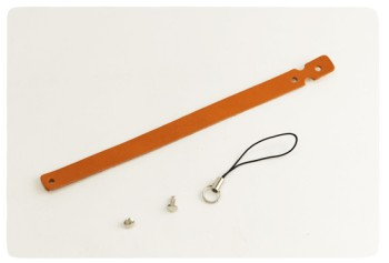 Leather Strap Loop Type  - Oiled Leather