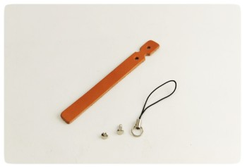 Cell Phone Strap - Hermann Oak Bridle Leather