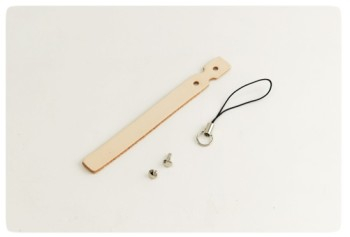 Cell Phone Strap - LC Tooling Leather Standard