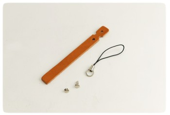 Cell Phone Strap - Oiled Leather