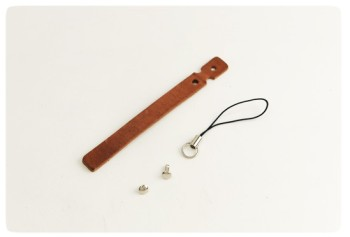 Cell Phone Strap - Hermann Oak Harness Leather