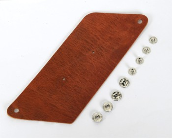 Triangle Coincase Kit - Hermann Oak Harness Leather