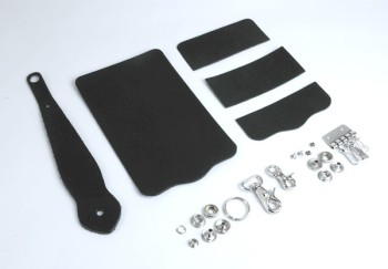 Key Case with Key Fob Kit - LC Tooling Leather Standard