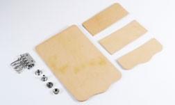 Key Case Kit - Hermann Oak Tooling Leather